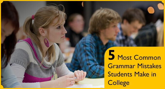 5 Most Common Grammar Mistakes Students Make in College